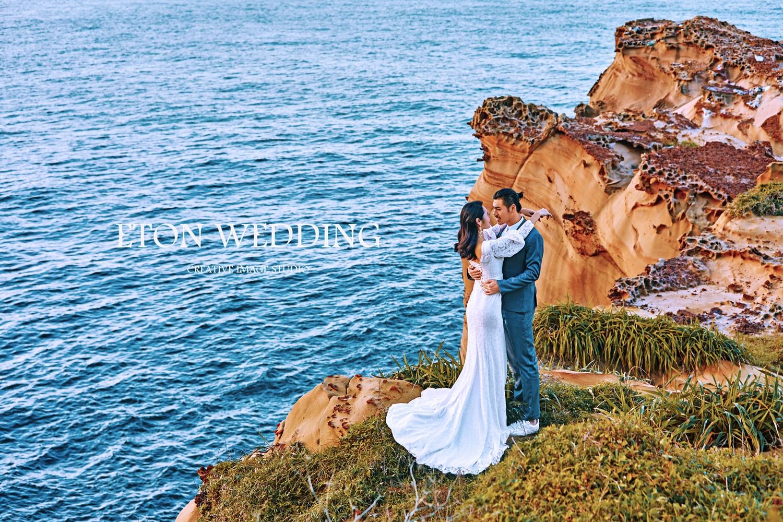 婚紗攝影,婚紗照風格,婚紗照姿勢,婚紗攝影工作室,海岸情緣